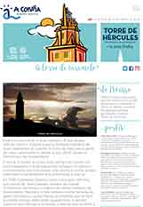 Portada do folleto Torre de Hércules