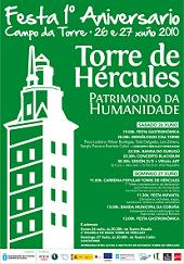 1st anniversary of Declaration of Tower of Hercules as World Heritage Site