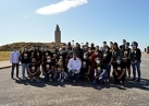 O chef José Andrés reuniuse cos voluntarios de Chefs for Spain na Torre de Hércules